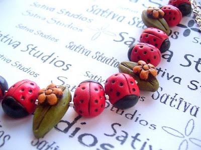 Lotsa Ladybugs - Antiqued Bracelet