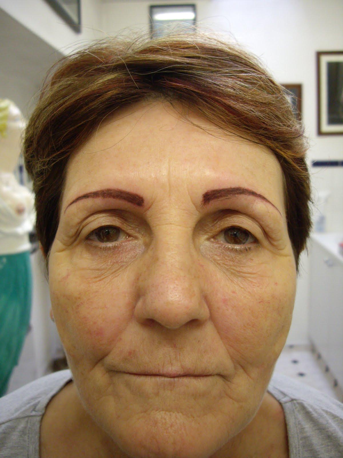 25 beautiful eyebrow tattoos creativefan for Tattoo eyebrows nj