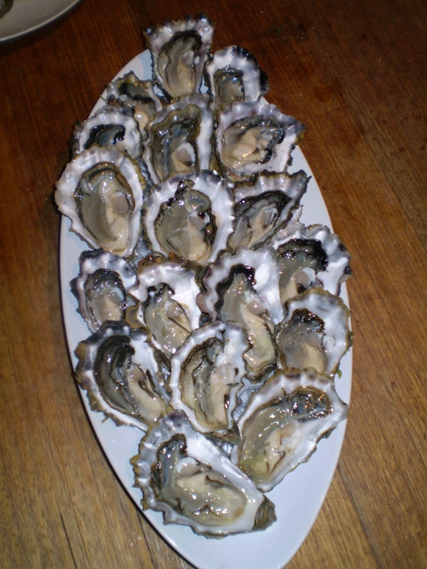 So the big question is how do you eat your oyster and why? Oyster Eating Salt