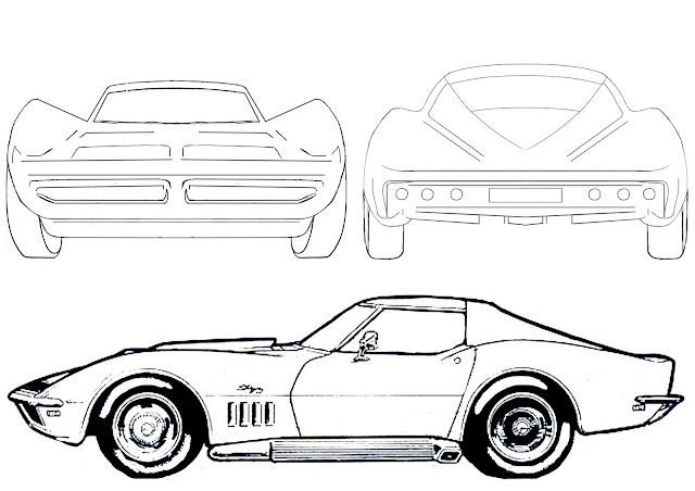 cartoon car drawings