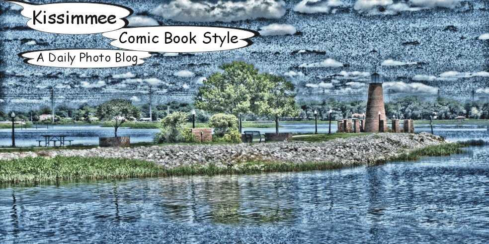 Kissimmee Comic Book Style