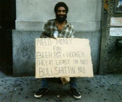 Funny Beggar