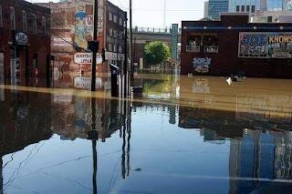 Nashville Flood downtown
