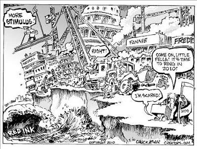 New year's political cartoon