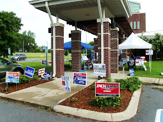 Hermitage Library Early voting
