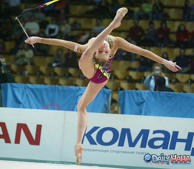 Flexible Gymnastic Girl