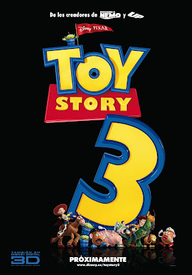 cartel toy story 3 español