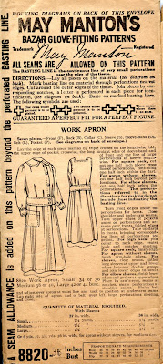 Shiny Happy World — Get to Work apron pattern PDF
