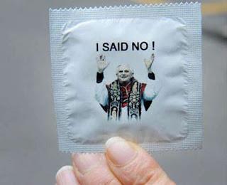 Pope condom