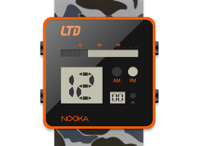 nooka ltd watch 1 Nooka X LTD Magazine Watch