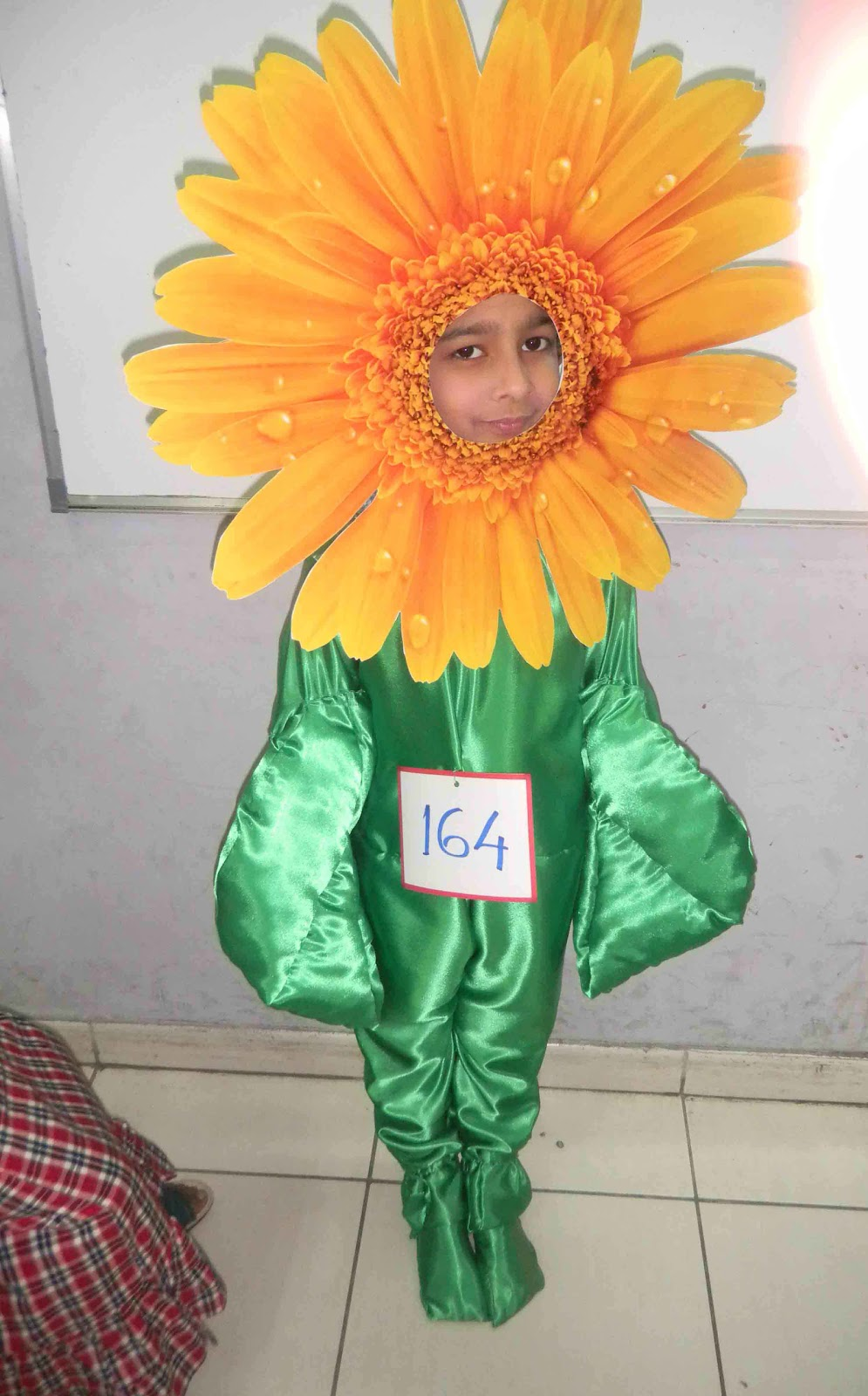 Sandvicrochet Sunflower Fancy Dress Costume