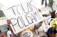 demo tolak poligami