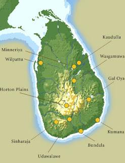 Wasgamuwa National Park Map Wasgamuwa National Par...