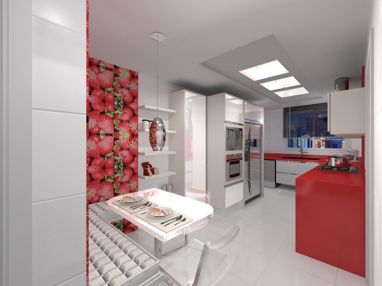 de Interiores  Maquetes 3d: Trabalhos Freelancer Desenho 3D/ Cozinhas #993234 1600 1200