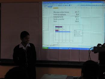 Hacemos estadística en nuestra clase