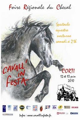 affiche cavall'in festa