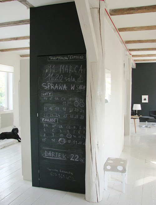 Dear musketeer more chalkboard blackboard inspiration - Tableau noir magnetique ikea ...