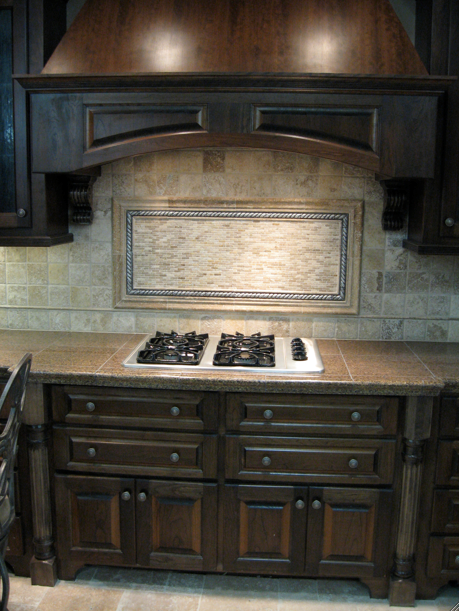 Brown Kitchen Dark Brown Kitchen Cabinets