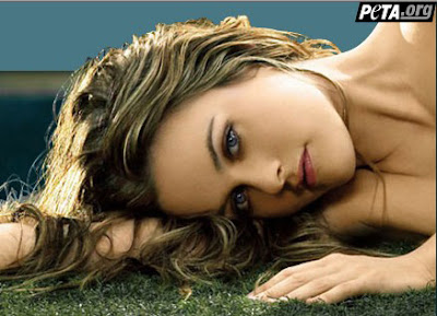 Alicia Silverstone appears nude in a new PETA ad promoting vegetarianism.