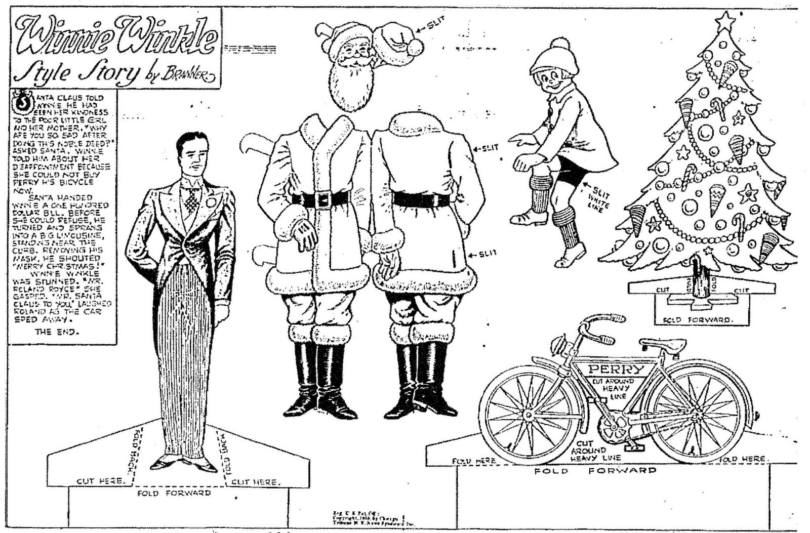 Mostly Paper Dolls: Winnie Winkle Comic Strip Paper Dolls from ...