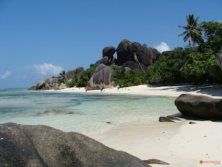 Anse Source D'Argent, La Digue, in Seychelles