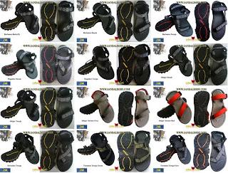 Model Sandal Cowok atau Pria Terbaru 2011 keren trendy