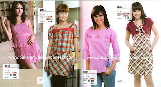 Model Fashion Busana Pakaian Baju Wanita Terbaru Terkini 2011
