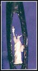 Micro liberty statue