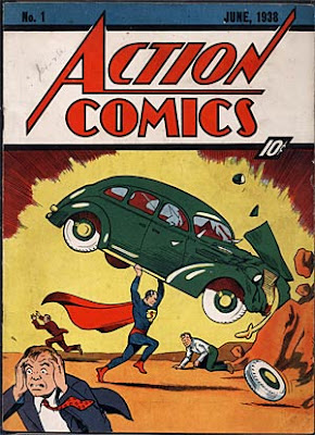 This Superman comic sold for $317,200 in an Internet auction