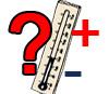 Thermometer - Temperatur rauf oder runter?
