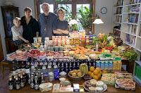 Essen für eine Woche in Deutschland