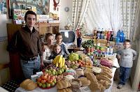 Essen für eine Woche in Italien