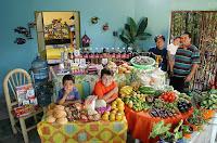 Essen für eine Woche in Mexiko