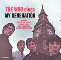 Who sings my generation - The Who