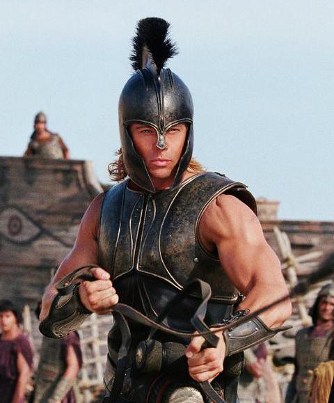 Achilles Brad Pitt Movie Star: Brad Pitt ...