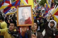 Tibet supporters in Japan
