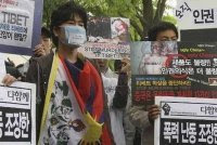 Korean Tibet activists