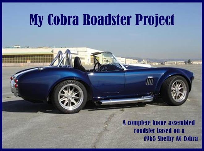 Daniel's Cobra Roadster Project
