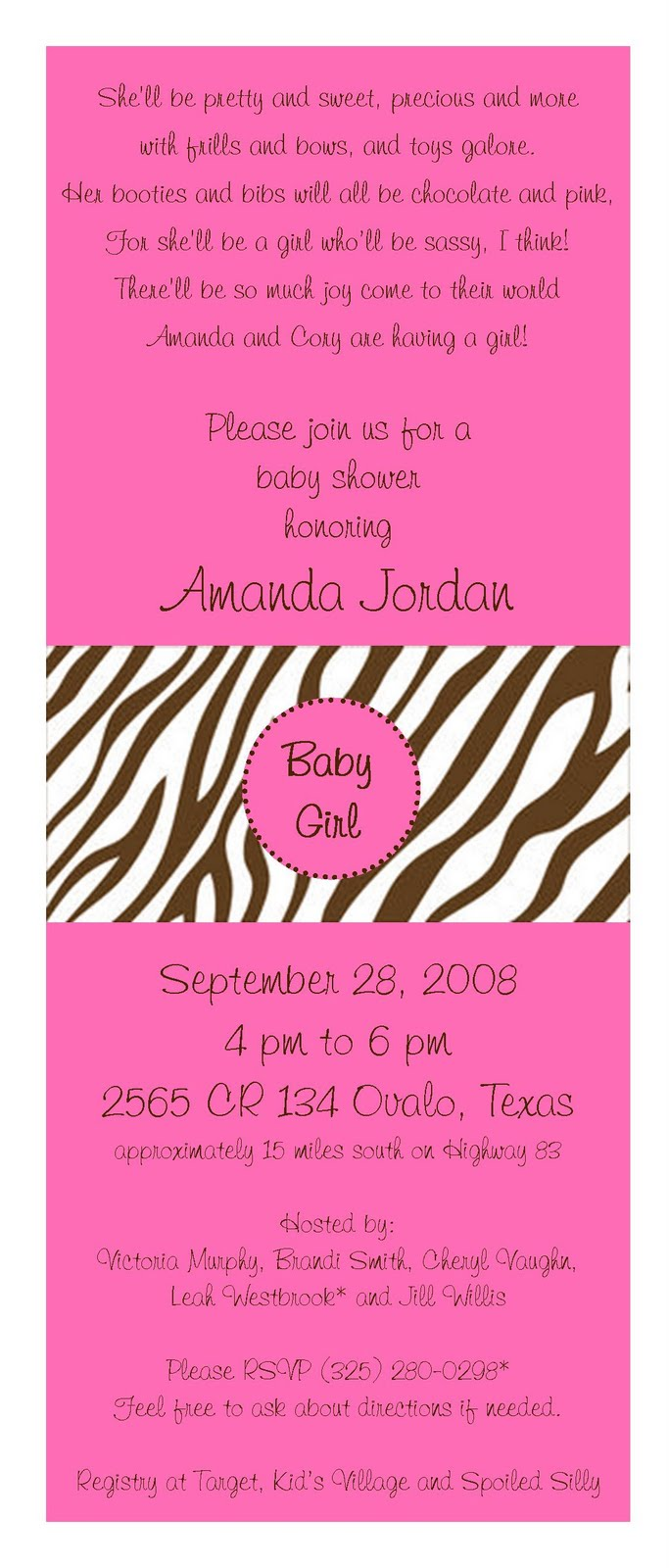 creations by kimberly: Baby Shower/Birth Announcements