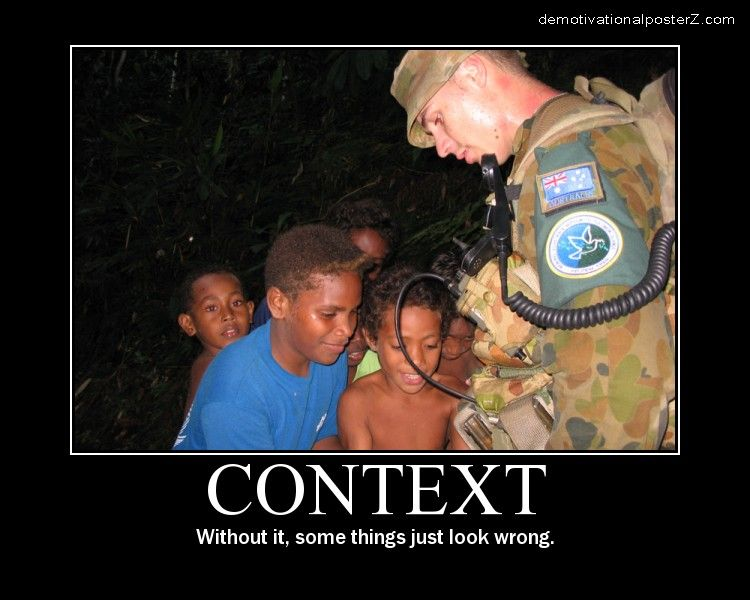Context without