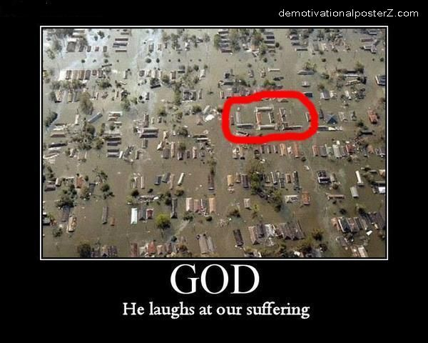 LOL - God Laughs At Our Suffering