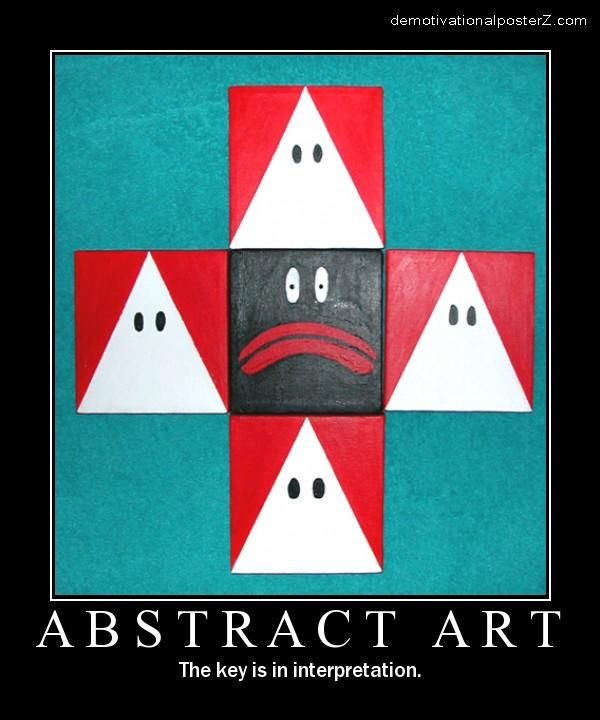 Abstract Racist  Art kkk