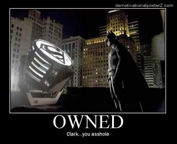 Batman owned by Superman