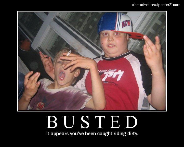 Busted - Kids Smoking