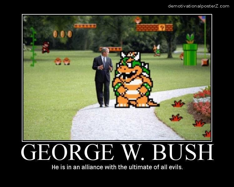 George Bush And King Koopa