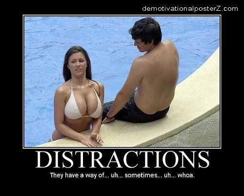 Distractions - Huge Tits