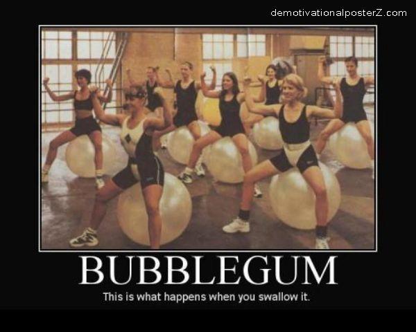 Bubblegum yoga