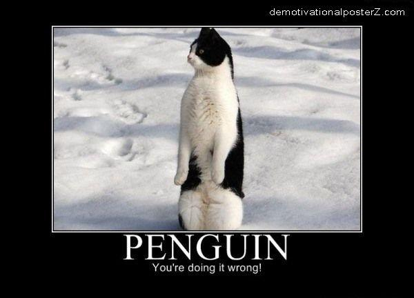 Penguin - you're doing it wrong