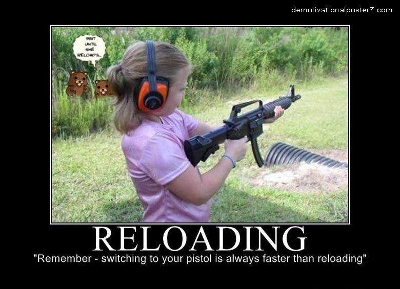 Reloading (pedobear attack)