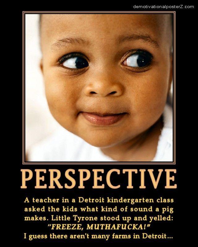 Perspective Detroit Black Kid